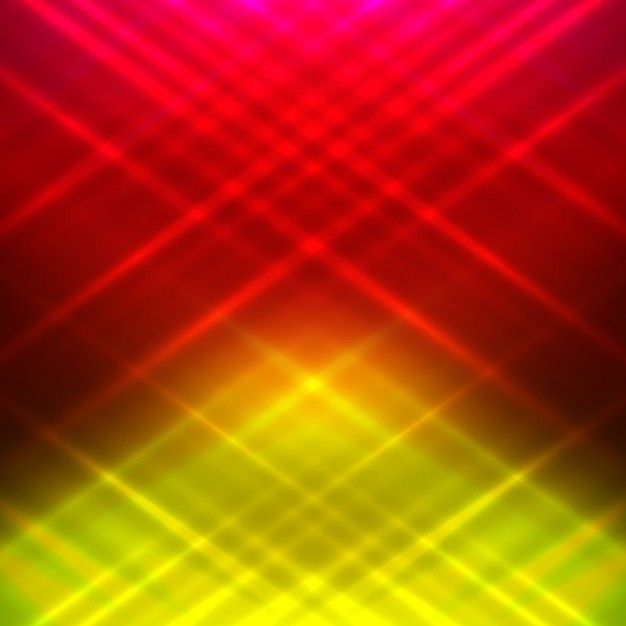 Red And Yellow Glowing Background Vector