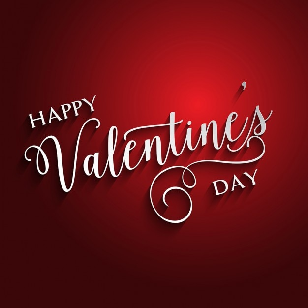 Red Background For Valentine Free Vector