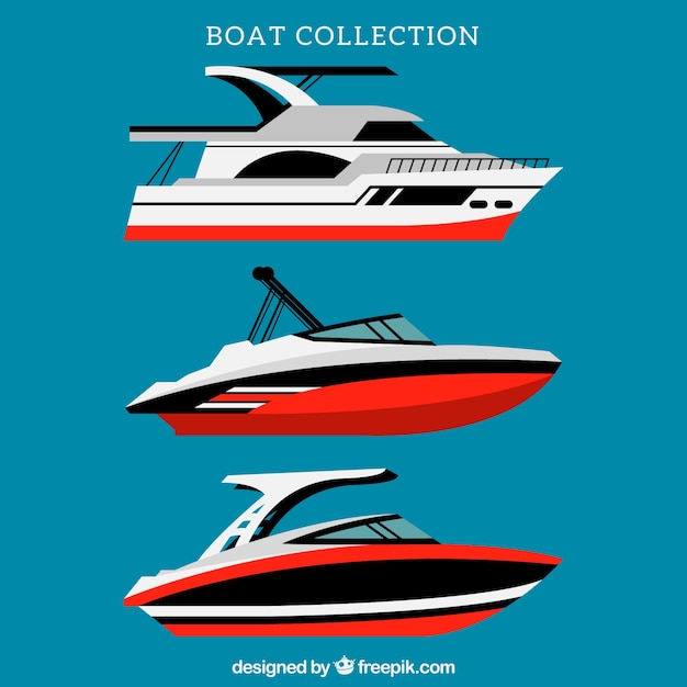 Red boat collection