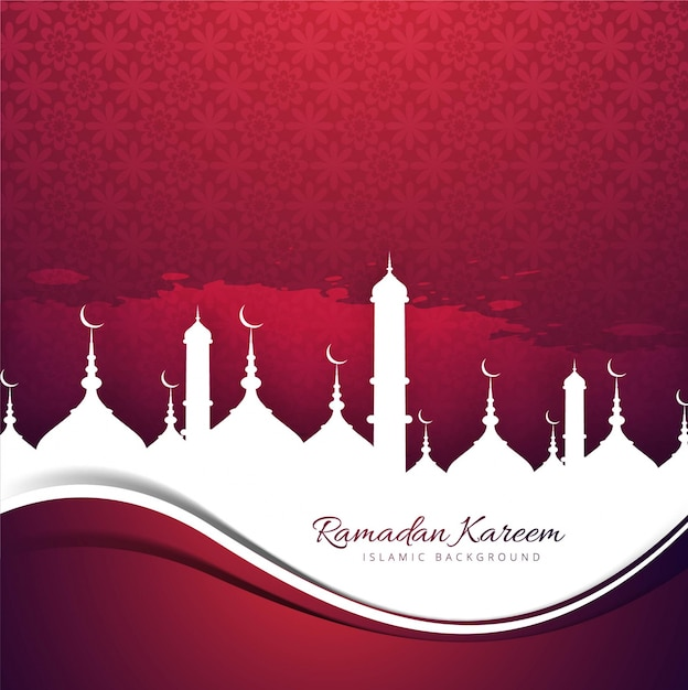 download vector red design with mosques for ramadan kareem vectorpicker red design with mosques for ramadan