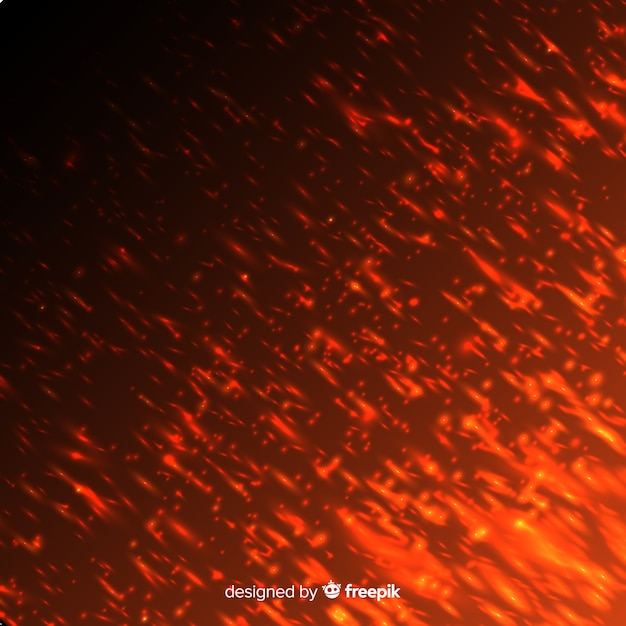 Red Fire Effect On Transparent Background Vector Free Download