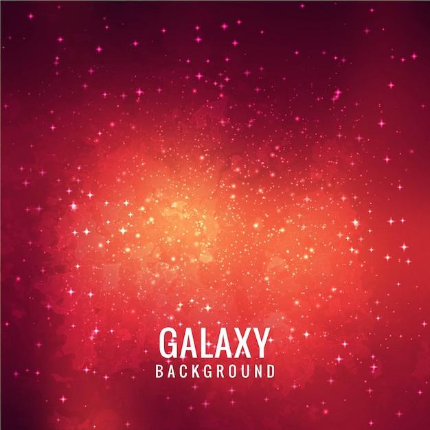 red galaxy background design vector premium download