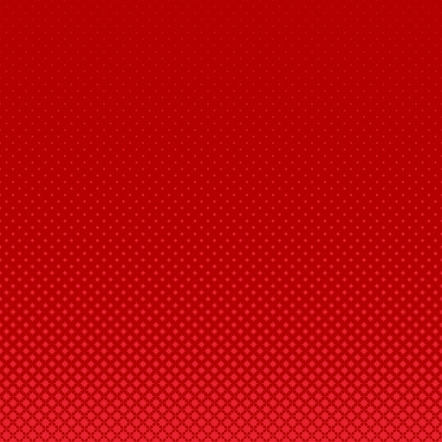 Red geometrical halftone curved star pattern background