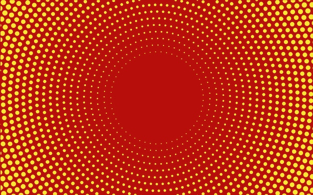 Free Vector Red Gradient Halftone Background Vector