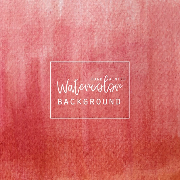 Free Vector Red Gradient Watercolor Background