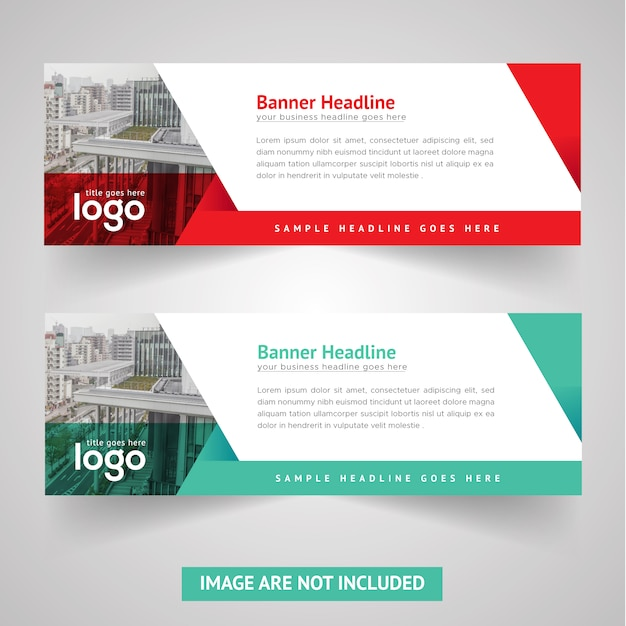 Professional Design Banners Flowy Banners
