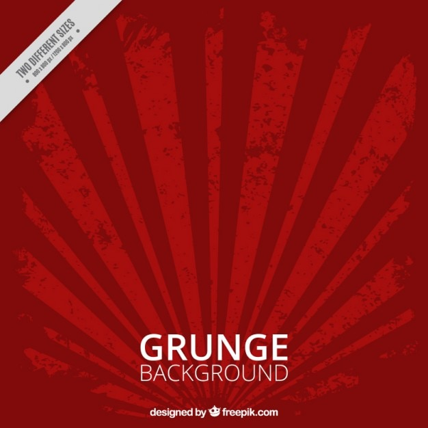 Red grunge background Premium Vector