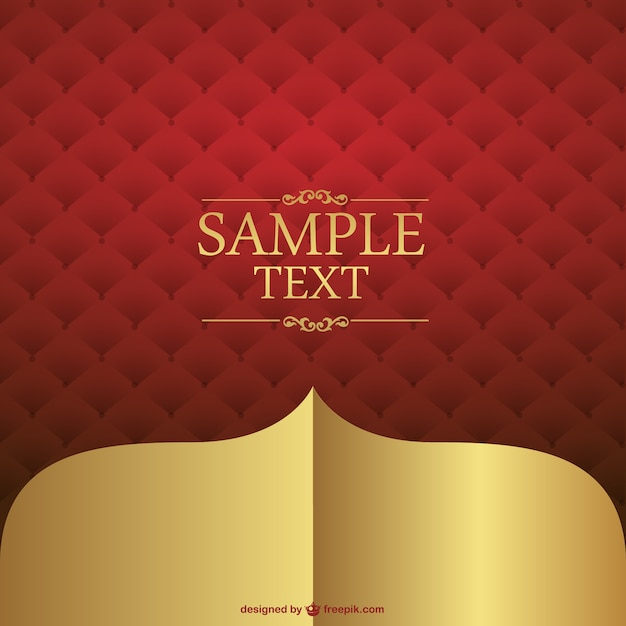 Red leather background design Vector | Free Download
