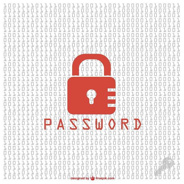 Безопасности pasword свободный вектор Premium векторы