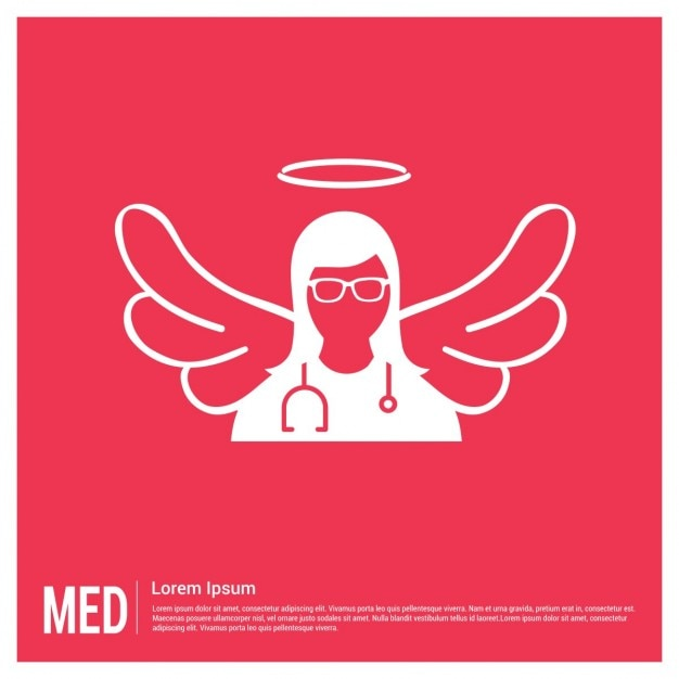 red medical background - photo #13