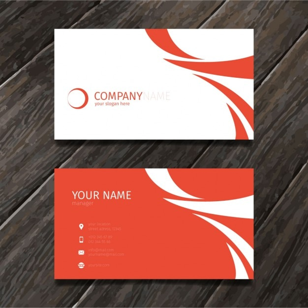 Red minimal abstract business card tempate vector free download red minimal abstract business card tempate free vector reheart Gallery