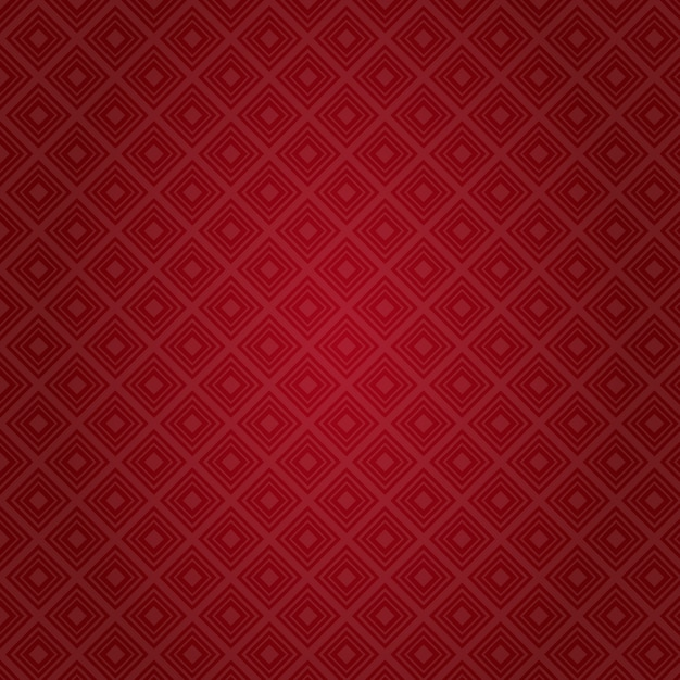 Red pattern abstract background valentine day gift card holiday Premium Vector