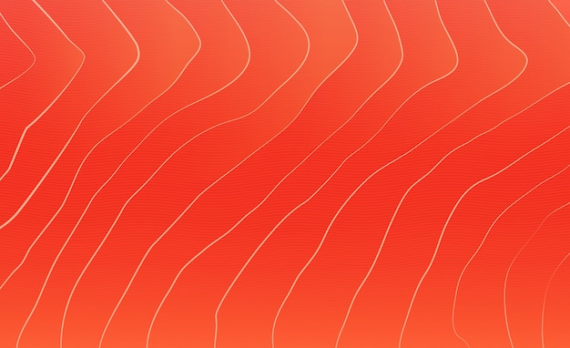 Red salmon texture background Premium Vector