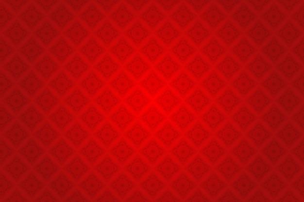 Red silk thai pattern Premium Vector