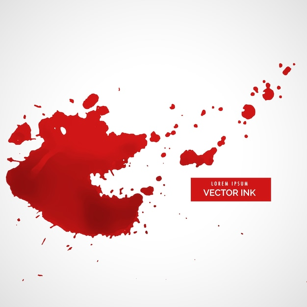 red splatter stain background vector free download