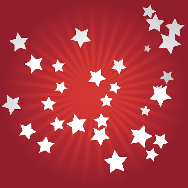 red star background - photo #18