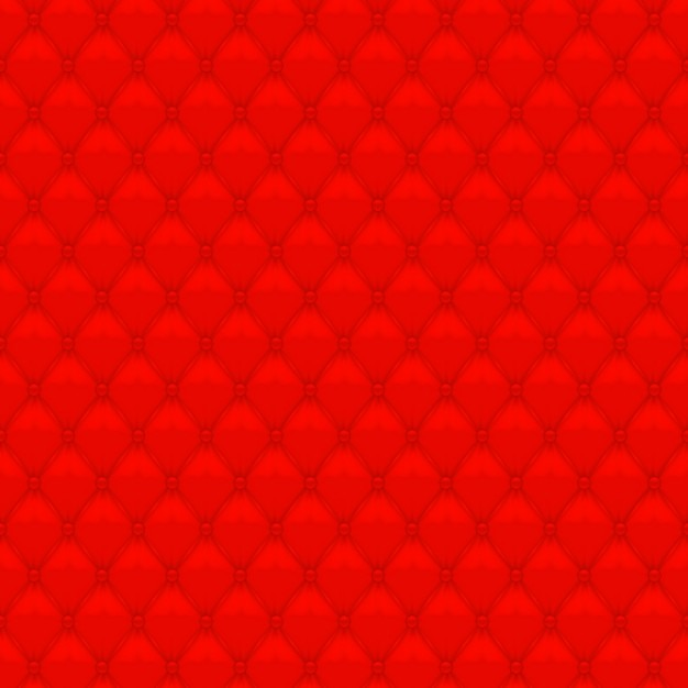 Red upholstery background Free Vector