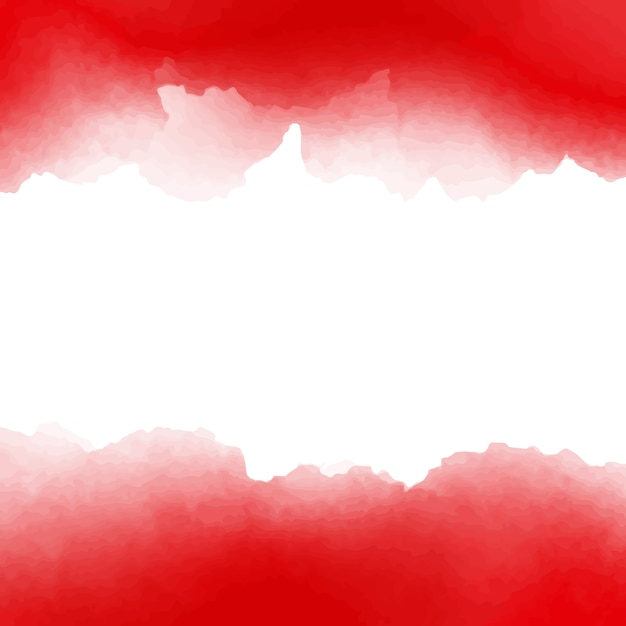 Free Vector Red And White Watercolor Background Design