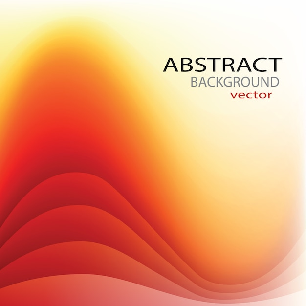 Free Vector Red Yellow Background
