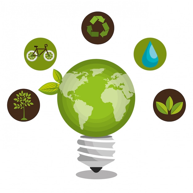 Renewable energy Free Vector