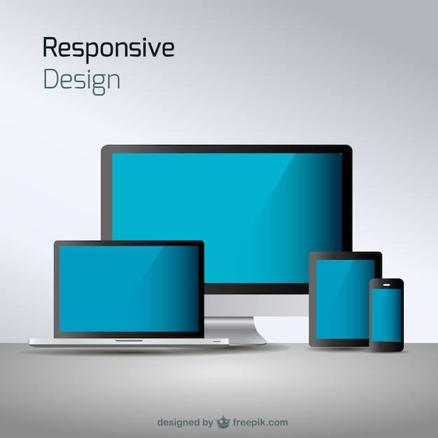 Responsive web design technology Vector | Free Download