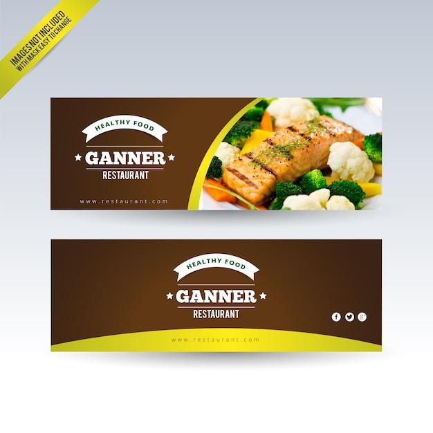 download vector restaurant banners set vectorpicker
