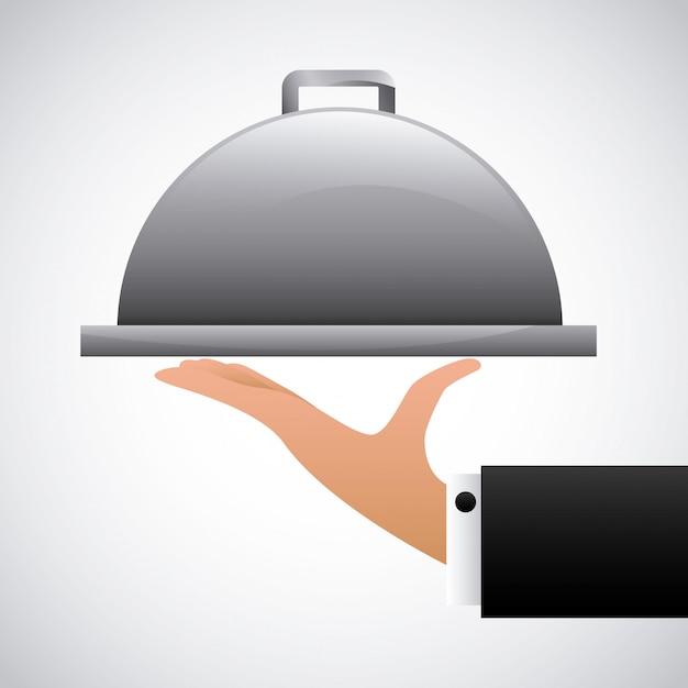 Restaurant design Premium Vector