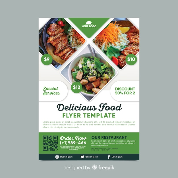 Restaurant Flyer Free Vectors Stock Photos Psd
