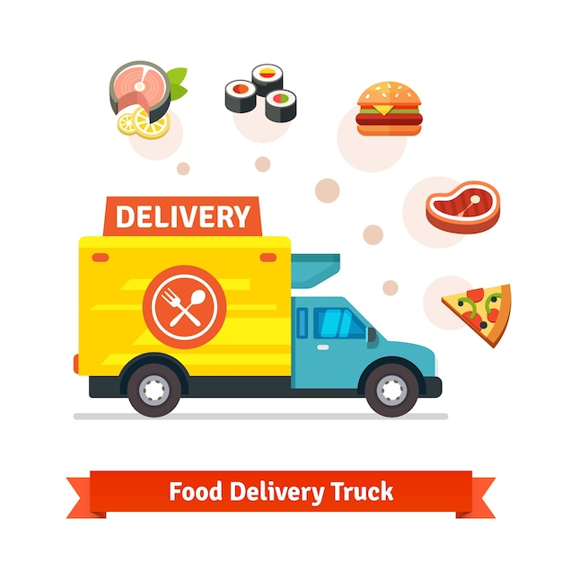 delivery truck icon vector - photo #21