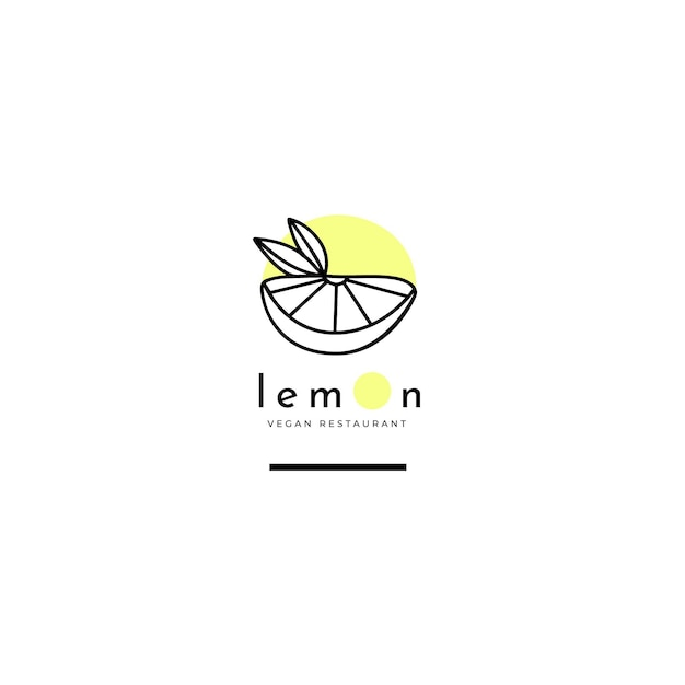Restaurant logo editorial template Free Vector