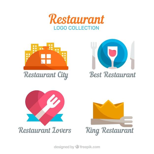 Restaurant logos pack