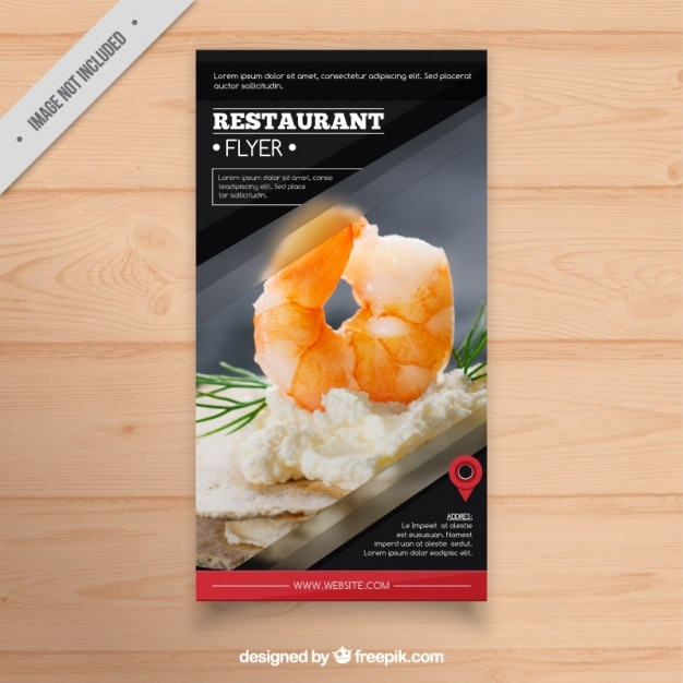 Food Flyer Template Restaurant Flyer Template Perfectly Fit - Menu brochure template free