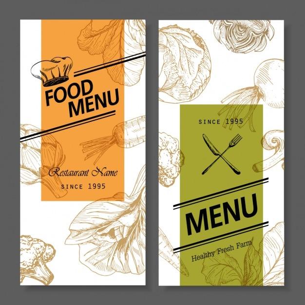 Restaurant menu design Vector | Free Download