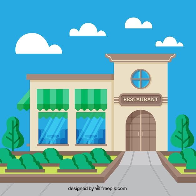 Free Vector   Restaurant scene