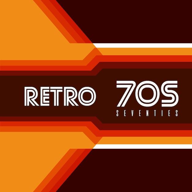 Retro 70s Premiumベクター