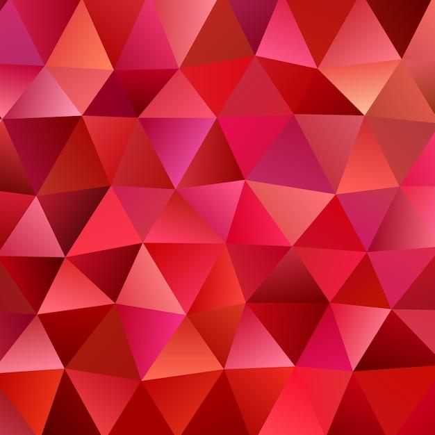 Retro abstract irregular polygonal triangle background Premium Vector