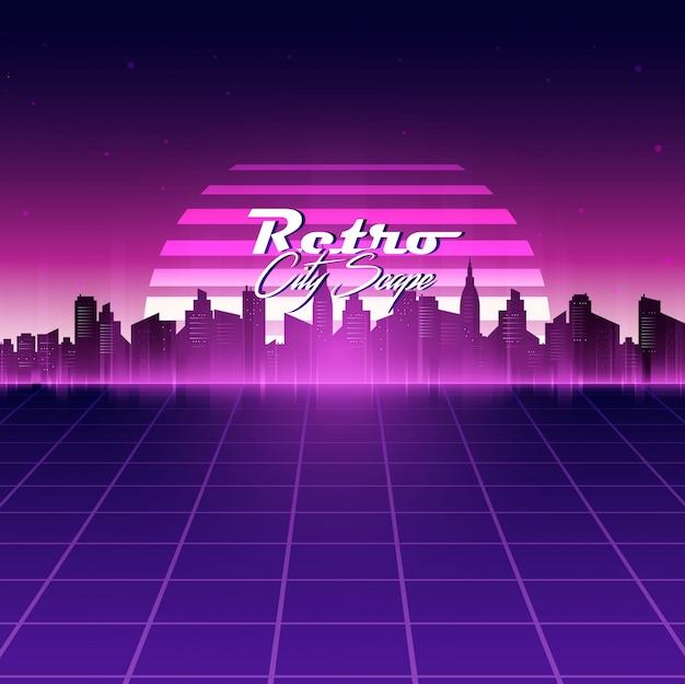 retro background design Premium Vector