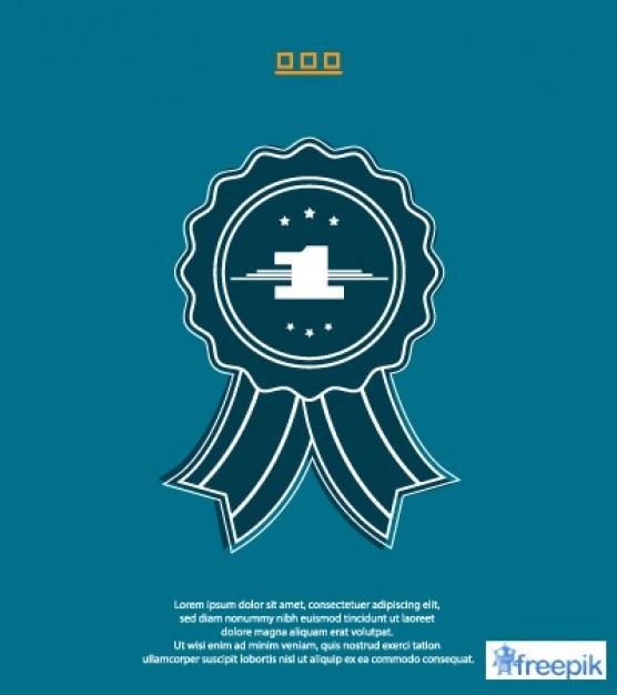 Retro Blue Award 1