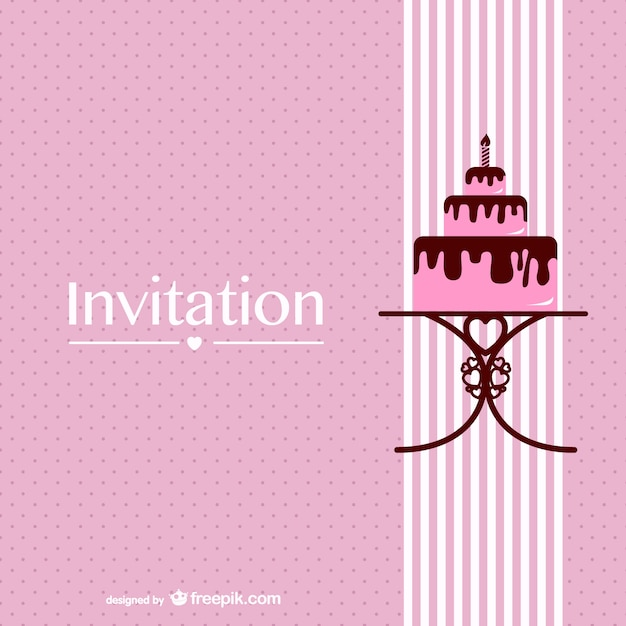 Retro Chocolate Cake Design Free Vector Free Download