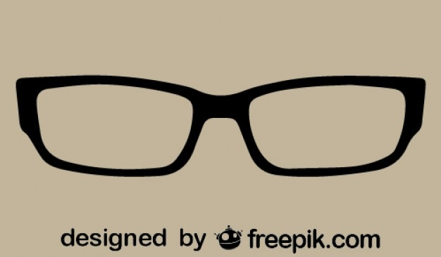 Glasses Frames Vector : Retro Classic Glasses Vector Free Download