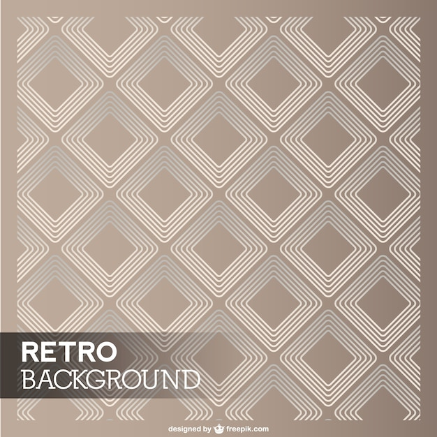 retro diamond template vector free download
