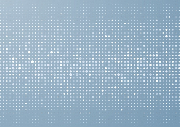 Retro dots background Free Vector