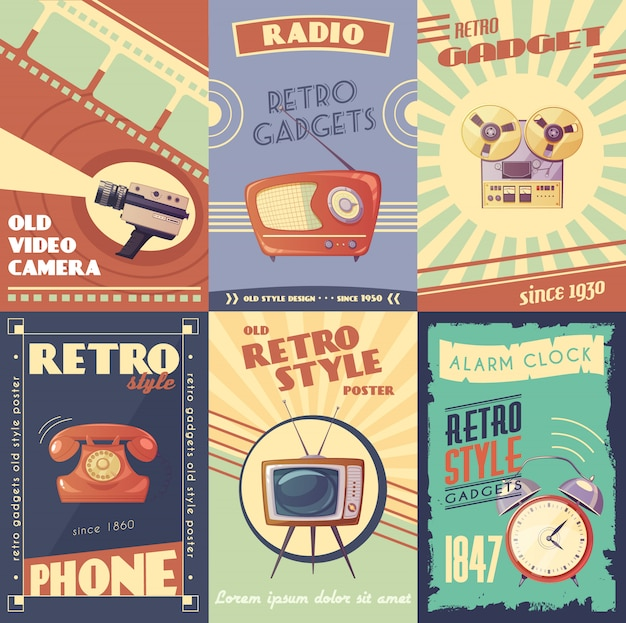 Vintage Poster Vectors, Photos and PSD files | Free Download