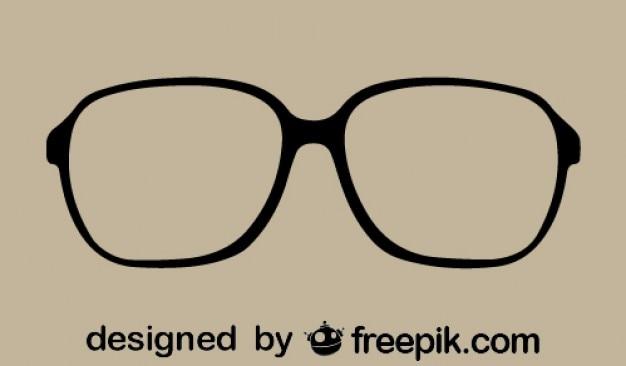 Free Vector | Retro glasses icon