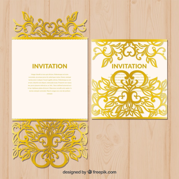 free laser cutter templates - retro laser cut template vector free download