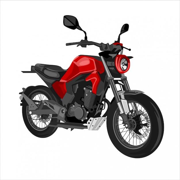 Retro motor illustration Premium Vector