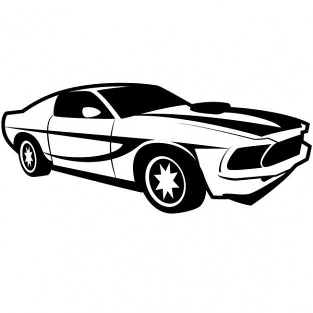 Retro Racing Car Vector Illustration Vector Free Download