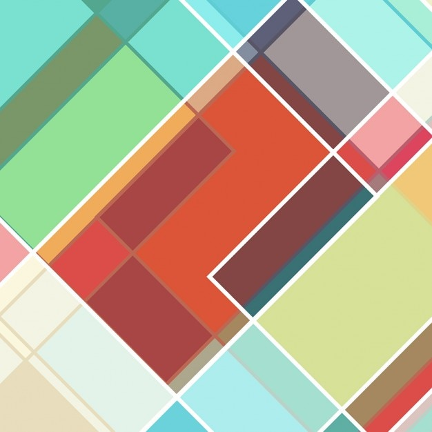Retro styled background with abstract\ design