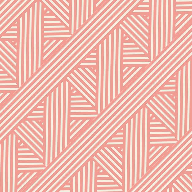 Design a strisce in stile retrò Vettore gratuito