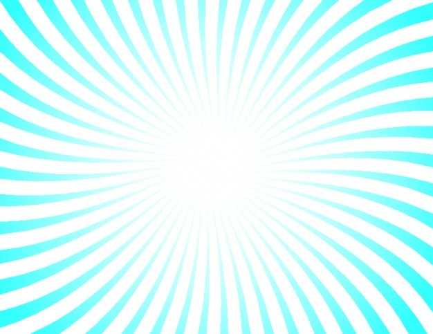 Retro sunburst with blue and white stripes Vector | Free